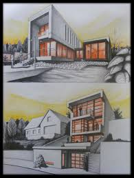 house drawing exercise by arhito on deviantart