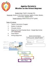 on the orient express table of contents on the orient express google map activity police report and