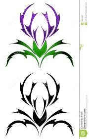 thistle design comousar