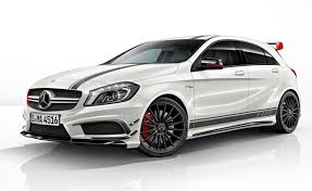 mercedes amg turbo mercedes a45 amg edition 1 is the german hatch