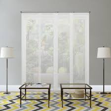 Vertical String Blinds Cordless Blinds Window Treatments The Home Depot