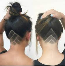 my mom and i got undercuts together