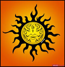 how to draw a celtic sun design by tattoos pop culture