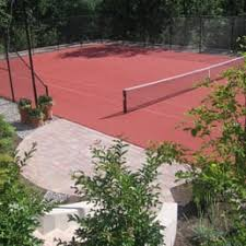 Backyard Tennis Courts Deshaye U0027s Dream Courts Contractors Haddonfield Nj Phone