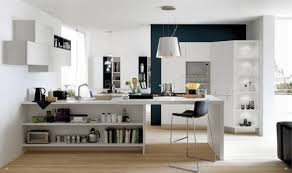 Modern Kitchen Designs For Small Spaces Blending Modern Kitchens With Living Spaces For Multifunctional