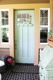 outdoor wingbacks for the front porch painted front doors door