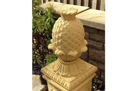 large pineapple finial cheap garden features at lsd co uk