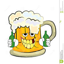 cartoon beer drinking beer cartoon stock illustration image 44059249