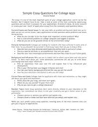 sample personal essay for college application sample essay question in template with sample essay question sample essay question also service with sample essay question