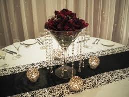 can i see your black and burgundy decor weddingbee