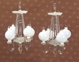 Milk Glass Chandelier Keeper Of The Dolls Theriault U0027s