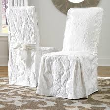 sure fit parsons chair slipcovers matelasse damask dining room chair slipcover sure fit target