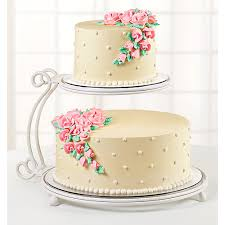 two tier cake stand wilton 2 tier floating cake stand walmart