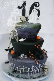3 halloween graveyard cakes cake decorating pinterest