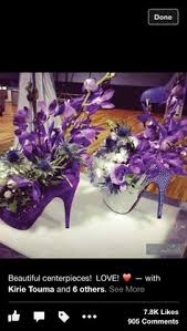 Centerpieces For Parties Lecorya Lowery High Heel Centerpiece Pinterest Centerpieces