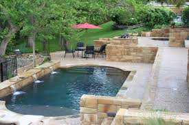 Patio Pictures Ideas Backyard by Ideas Charming Backyard Pool Ideas With Patio Umbrella And Green
