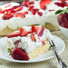 tres leches cake with strawberries spicy southern kitchen