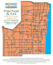 Tamarac Florida Map by Food Program
