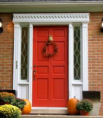 Red Door Paint by Ultimate Fall Makeover Easy Budget Friendly Outdoor Projects