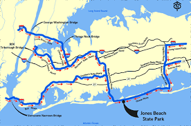 map us open driving directions 2009 us open bethpage black