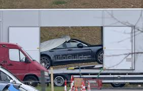 Porsche Panamera Next Gen - next generation 2017 porsche panamera spied undisguised in trailer