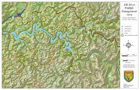 Elk Population Map West Virginia Dnr Wma Map Project