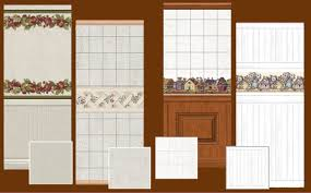 mod the sims maxis match country kitchen set of 4 wall and 4