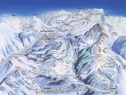 Alps Mountains Map Les Diablerets Switzerland Tourism