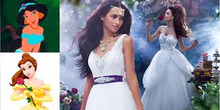 The Beauty Of Jasmine Bridal Dresses The Disney Princess Wedding Dress Collection Is A Thing