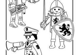Coloriage Playmobil Chevalier à Imprimer Playmobil Coloring Pages
