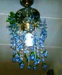 Chandelier Made From Plastic Bottles New Life Of Old Chandeliers Simple Craft Ideas
