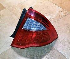 2011 ford fusion tail light tail lights for 2011 ford fusion ebay