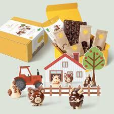 kit de cuisine pour enfant ma ferme en chocolat kit diy cuisine enfants bio made in