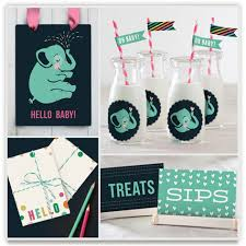 baby shower kits baby shower decorating kits by minted one savvy
