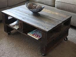 Diy Wood Coffee Table Ideas by 5 Creative Diy Wood Coffee Table Ideas U2013 Les Proomis