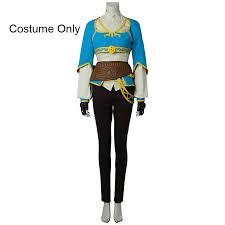 Princess Zelda Halloween Costume Shop Legend Zelda Breath Wild Princess Zelda