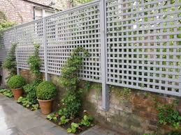 trellis planter garden screen u2013 outdoor decorations