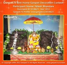 theme based 20 ganpati home decoration ideas part 1