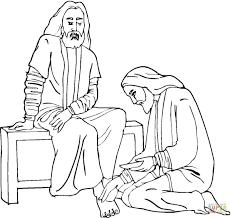 jesus washes the disciples u0027 feet abc jesus loves me