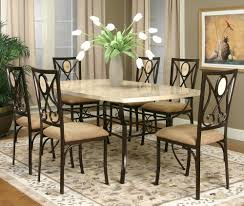 28 marble dining room set homelegance hahn 5 piece marble