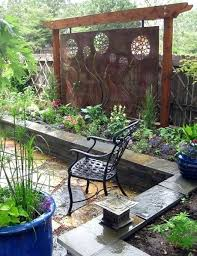 Backyard Screening Ideas Privacy Garden Screening Ideas Best Outdoor Privacy Screen Ideas