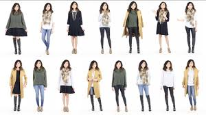 10 pieces u003d 15 looks winter capsule wardrobe minimalist miss