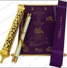 indian wedding scroll invitations scroll invitation card scroll invitation manufacturers suppliers