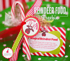 amanda u0027s parties to go free reindeer food tags