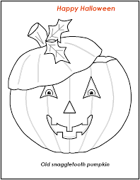 free printable halloween coloring pages learn language