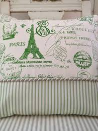 Shabby Chic Paris Decor by French Country Pillow Cover Shabby Chic Pillow Cover Paris