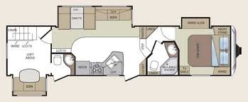 2011 keystone cougar fifth wheel floorplan 324rlb small jpg
