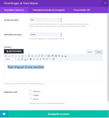 file dans ton bureau add a divi section inside page template creaweb2b