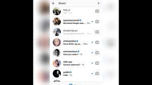 cara membuat akun instagram resmi seperti artis membuat fake chat dm instagram dengan artis idola langsung dari app