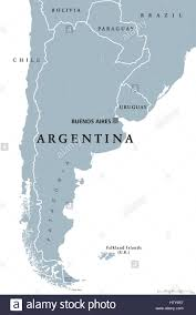 South America Countries Map by Argentina Political Map With Capital Buenos Aires National